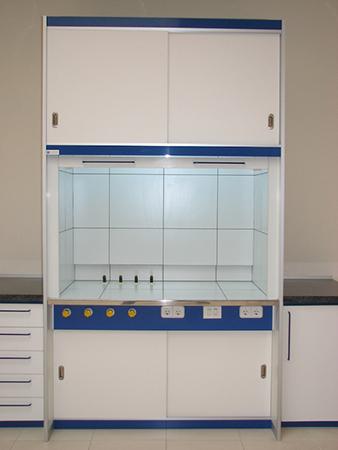 Vitrinas extractoras de gases - Borda Laboratorios