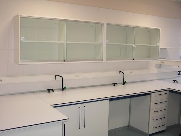 Armarios estanter as y vitrinas borda laboratorios - Armarios de acero inoxidable ...