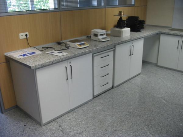 Encimeras de granito - Borda Laboratorios