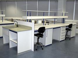 Mesas centrales - Borda Laboratorios