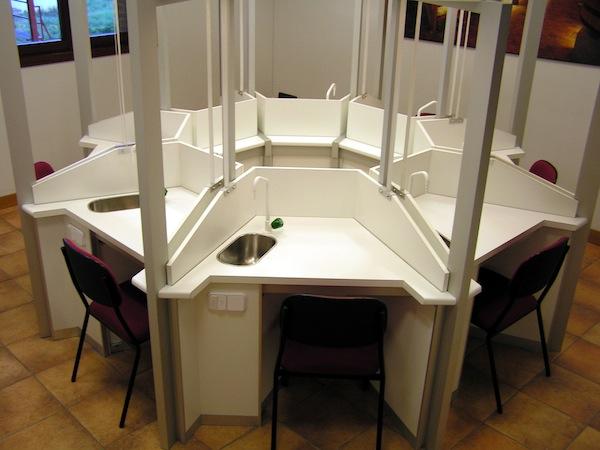 Salas de Cata - Borda Laboratorios